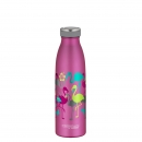 Trinkflasche 500 ml Flamingo Thermos